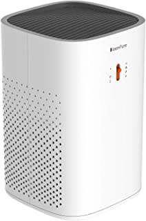 KeenPure Air Purifier with Longlife Cylindrical HEPA Filter, Allergies Eliminator for Pets Dander, Smokers, Compact Air Cleaner for Room up to 182 sq.ft, Super Quiet and Ozone Safety