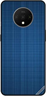 For OnePlus 7T Case Cover Bluish Cloth Pattern