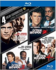 4-Film Favorites Lethal Weapon Collection - Lethal Weapon, Lethal Weapon 2, Lethal Weapon 3, Lethal