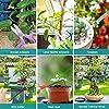 Wikay 10 Outils de Jardin avec Sac de Transport Ensemble d'outils de Jardinage Comprenant Coupe-Fil Ciseaux de Coupe Crochet Racine pour Jardin, Ferme, Pelouse #4