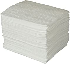 Brady SPC Basic Oil-Only Heavy Weight Absorbent Pad, White, 15