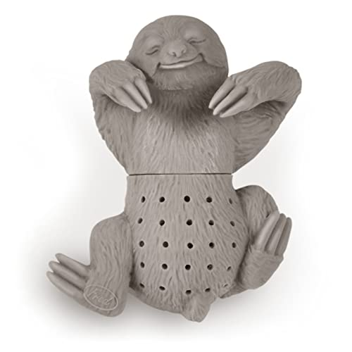 Fred and Friends, CA Slow Brew Silicone Sloth Tea Infuser