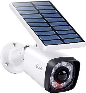 センサーライト 屋外 ソーラーライト 人感センサーライト 防犯カメラ型 太陽光発電 電源不要 省エネ 自動夜間点灯 人感検知 360角度調節 軒先 壁掛け 庭先 玄関周り IP66防水・防塵 屋外対応 (1個セット)