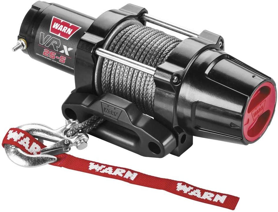 New Warn VRX High order 2500 lb Winch Cheap Model Synthetic With Specific Rope