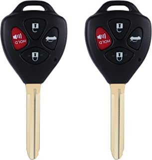 $29 » Car Keyless Entry Replacement Key Fob 2007-2011 Toyota Camry Remote Control HYQ12BBY 4D67 Chip 314.4Mhz Set of 2