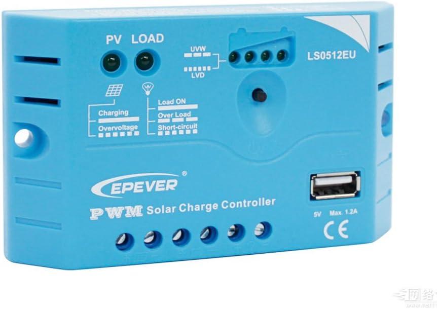 EPsolar LS0512EU Super-cheap PWM 5A w USB Panel Solar Regulator Regular store Controller 1
