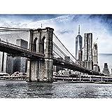 Puente Del Puente De Nueva York Puzzle 500/1000/2000/3000 Pieza Ciudad Del Horizonte De La Ciudad Adultos De Los Adultos De Los Adultos Juguetes De Regalo Para Adultos Para Adultos Adolescentes Famili