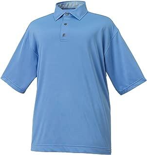 FootJoy Solid Lisle Self Collar Golf Polo