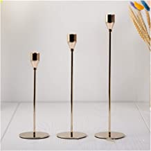 Candlestick Metal Candle Holders Luxury Candlestick Fashion Wedding Candle Stand Exquisite Candlestick Christmas Table Hom...