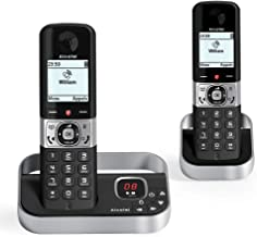 Alcatel F890 voice duo noir EU Telephone sans fil repondeur avec combine supplementaire. Blocage d'appel premium