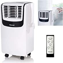 Honeywell MO08CESWK Compact Portable Air Conditioner with Dehumidifier and Fan for Rooms..