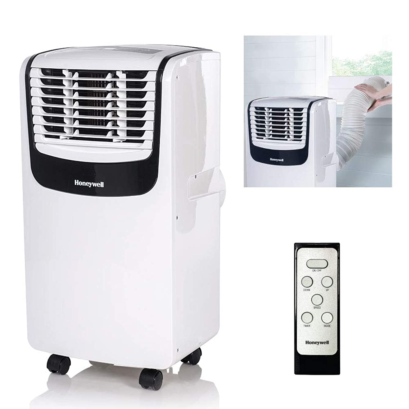 Honeywell MO Series Compact 3-in-1 Portable Air Conditioner White/Black chelinuxjmpuu14
