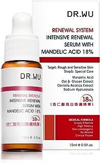 Dr Wu Intensive Renewal Serum With Mandelic Acid 18%, 15 Milliliter