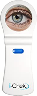 i-Chek™ - Aides in Make-up Removal, Prevents Air Bubbles under Scleral Lenses, Aides in Seeing/Cleaning off Scurf and Debris on your Eyelids and Eyelashes - High Magnification Mirror