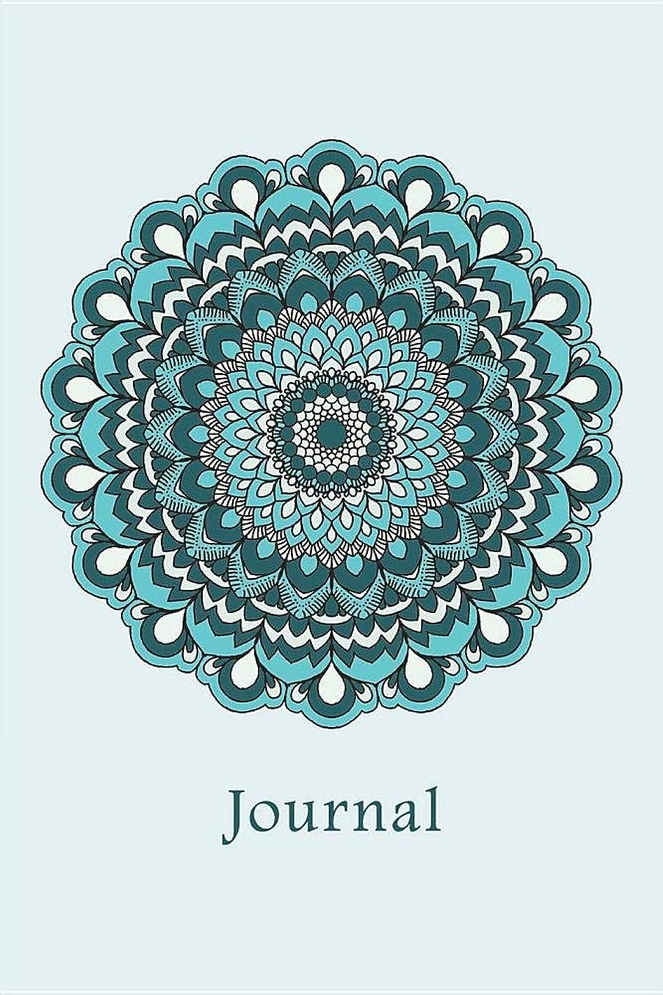 支配する重要性肺Journal: Flower Mandala (Blue) 6x9 - LINED JOURNAL - Writing journal with blank lined pages (Mandala Design Lined Journals)