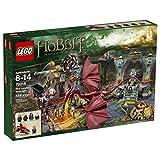 LEGO The Hobbit La Montaña Solitaria - Juegos de construcción (Verde, Gris, Rojo, Amarillo, 8 año(s), 866 Pieza(s),...