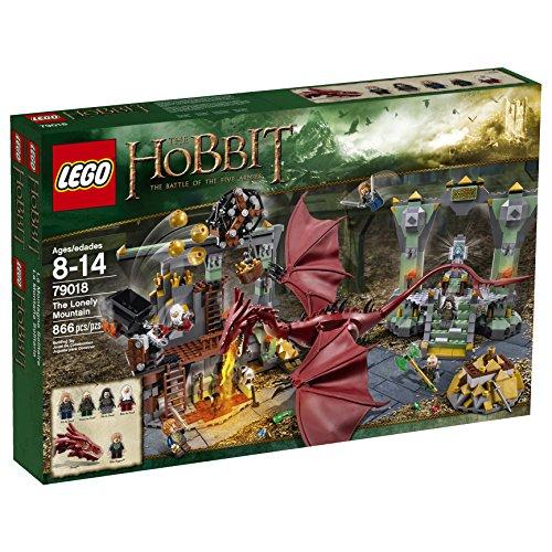 LEGO The Hobbit La Montaña Solitaria - Juegos de construcción (Verde, Gris, Rojo, Amarillo, 8 año(s), 866 Pieza(s), Película, Niño, 14 año(s))