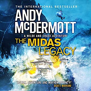 The Midas Legacy     Wilde/Chase, Book 12              Written by:                                                                                                                                 Andy McDermott                               Narrated by:                                                                                                                                 Gareth Armstrong                      Length: 16 hrs and 57 mins     Not rated yet     Overall 0.0