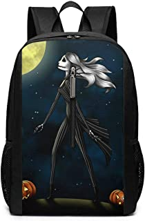 Laptop Backpack Nightmare Before Christmas Large Computer Backpack School Travel Backpack Casual Daypack For Women/Men
