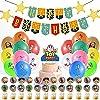 HAFTSS トイストーリー 誕生日 飾り付け キャラクター バースデー 飾り 誕生日 飾り 誕生日 バルーン 誕生日 風船 ハッピーバースデー 子供の日