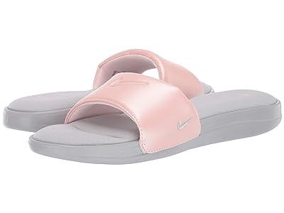 Nike Ultra Comfort 3 Slide (Wolf Grey/Wolf Grey/Echo Pink) Women