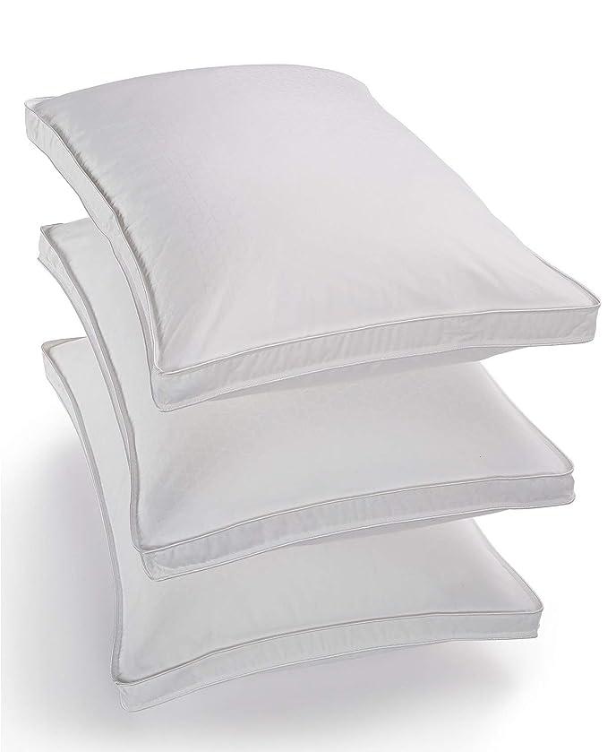 インペリアルれる三角形ホテルコレクションPrimaloftシルバーシリーズソフト標準/Queen枕