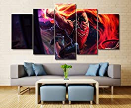 Canvas printing poster home decoration 5 pieces painting Darius game wall art picture living room modular frame