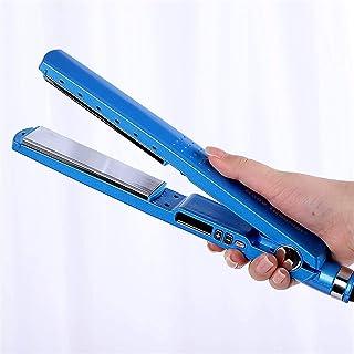 Hair Straightener - Nano Titanium Hair Straightener Five-Speed Temperature Control with LED Temperature Settings Max 450°...