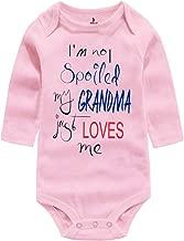 Amberetech Clothes Spoiled Bodysuit Grandma Pink Long