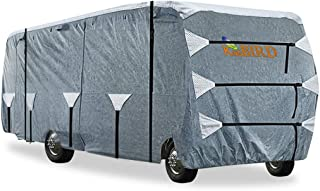 KING BIRD Upgraded Class C RV Cover, Extra-Thick 5 Layers Anti-UV Top Panel, Deluxe Camper Cover, Fits 29'- 32' RV Cover -...