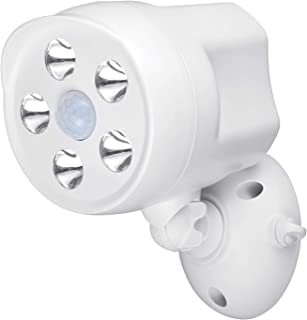 Wasserstein Outdoor Battery Powered Spotlight with Motion Sensor - Compatible with Arlo Pro/Pro2, Arlo Ultra/Ultra 2, Ring...