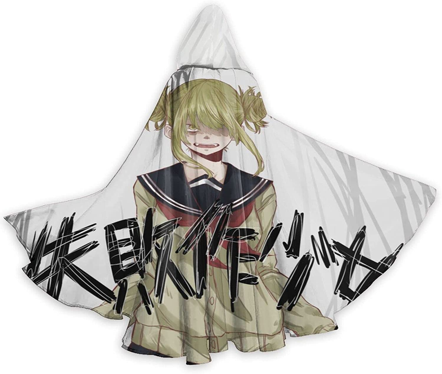 Ranking TOP18 Unisex Hi-Miko Toga Anime Hooded Cos Cloak Halloween Robe Wizard Large discharge sale