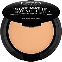 NYX PROFESSIONAL MAKEUP Stay Matte but not Flat Powder Foundation, Soft Beige, 0.26 Ounce