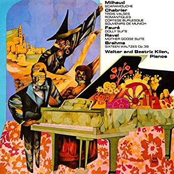 Milhaud / Chabrier / Faure / Ravel / Brahms