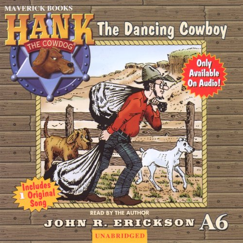 The Dancing Cowboy audiobook cover art
