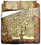 Deco Italia Trapunta Leggera Klimt - Albero della Vita | Matrimoniale 250 x 260 cm