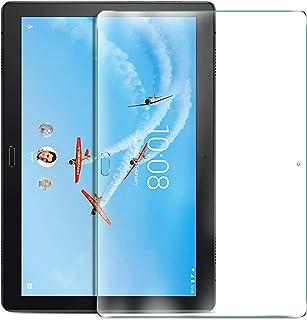 ELTD Clear Screen Protector Anti-Scratch Anti-Bubble Anti-Fingerprint Glass Screen Protector Compatible Lenovo tab P10
