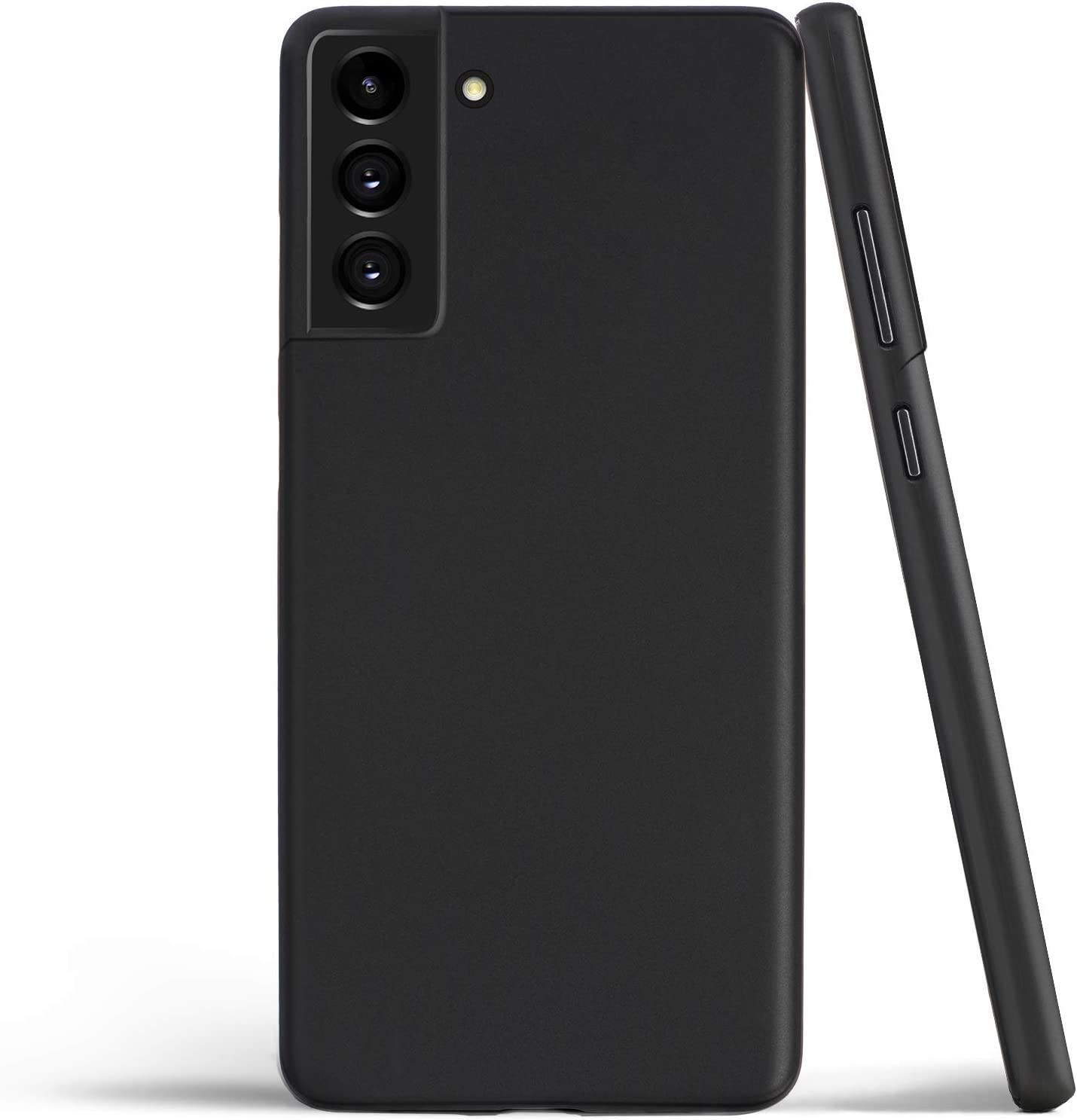 Thin Galaxy S21+ Case, Thinnest Cover Ultra Slim Minimal - for Samsung Galaxy S21 Plus 5G (2021) - totallee (Solid Black)