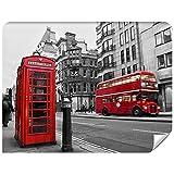 Photo Papier Peint London - Photo Papiers Peints Pour Salon FDB300, XL - 330 x 255 cm