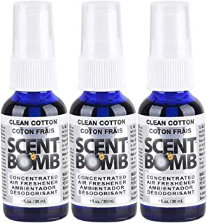 Scent Bomb Air Freshener: Clean Cotton (3 Pack)