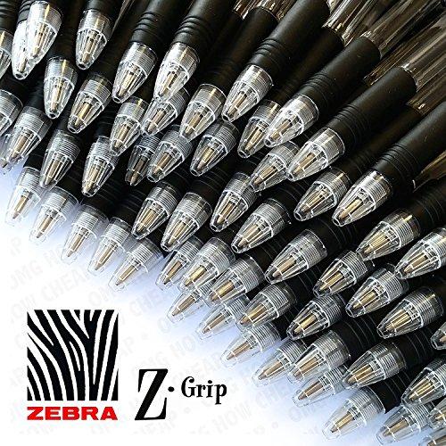 Z-Grip, penna a sfera retrattile, confezione da 40, colore: nero
