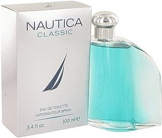 Nautica Classic Eau De Toilette Spray for men 3.4 oz/100 ml