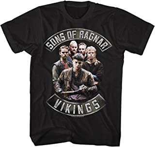 American Classics Vikings Sons of Ragnar Adult Short Sleeve T-Shirt