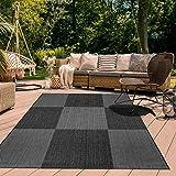 Alfombra exterior de 67 x 140 cm, rectangular, color gris, entrada apta para calefacción por suelo radiante.