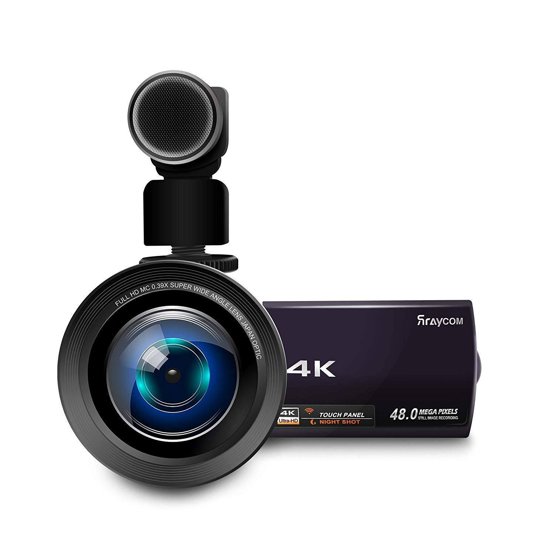 Camcorder Rraycom Ultra HD Camcorders Microphone