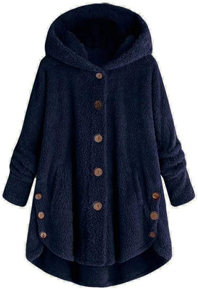 Winter Fashion Women's European Style, Comfortable Casual Jacket, Buttons