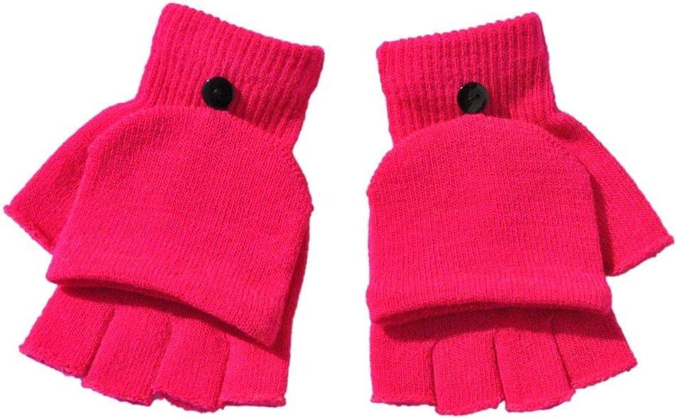 Gloves Gloves Adult Women Men Winter Hand Wrist Warmer Flip Cover Fingerless Gloves High Quality Gloves Women