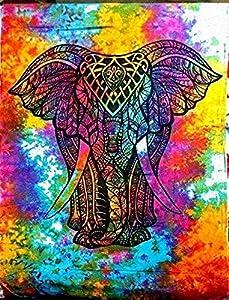 Healing Crystals India Cotton Hippy Indian Mandala Wall Hanging Bohemian Throw Decor Bedspread Tapestries