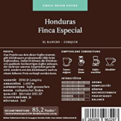 Berliner Kaffeerösterei Honduras Finca Especial