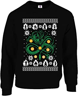 Graphic Impact Funny Inspired Dragon and Ball Gamers Ugly Christmas Sweater Xmas Jumpers
